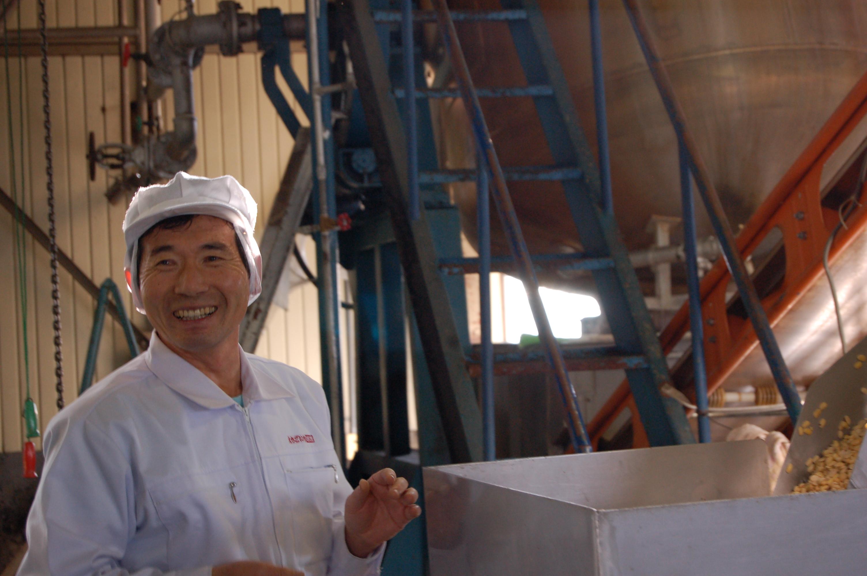 「現代の名工」池野正春氏が造る おいしい味噌