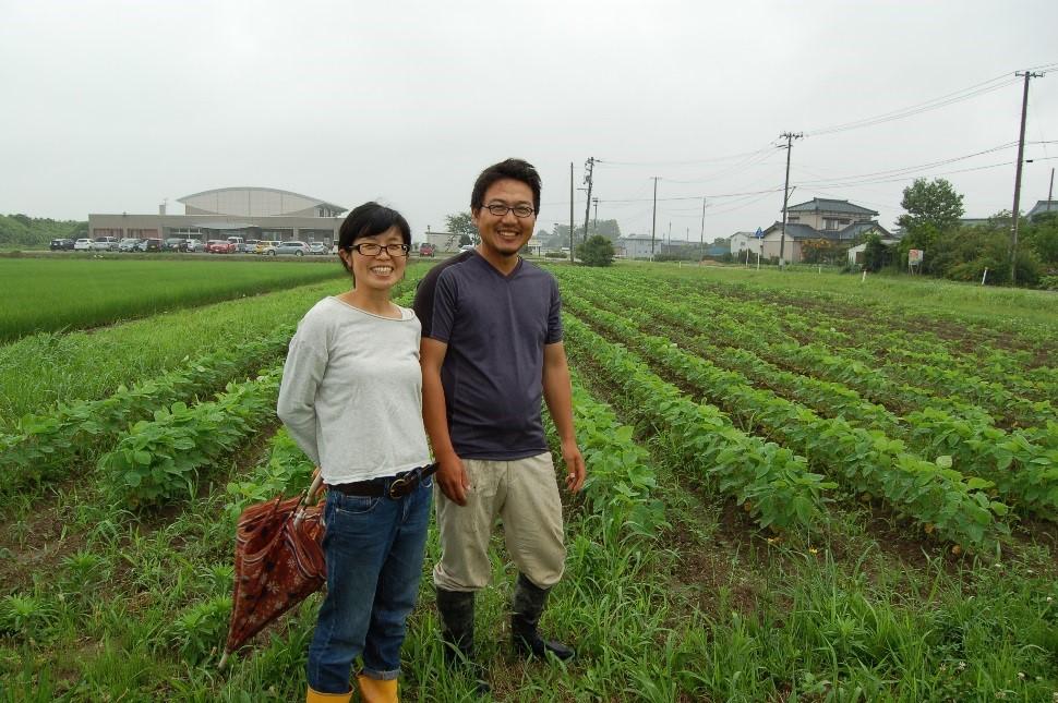 ⑦ たなか農園(田中洸次・やすこ)/ 新潟市江南区